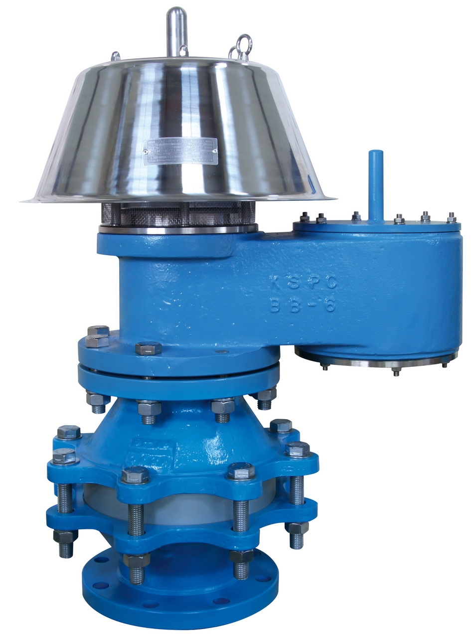 Kspc Breather Valve With Flame Arrestor Dancomech